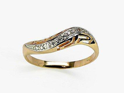 Золотые кольца с камнями - E-ROTAS.LV b824344b3e502